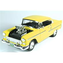 Motormax 1:18 1955 Chevy Bel Air (Sarı) Model Araba