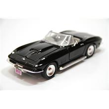 Motor Max 1:24 1979 Corvette (Siyah) Model Araba