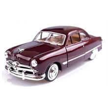 Motor Max 1:24 1949 Ford Coupe (Bordo) Model Araba