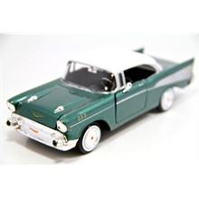 Motor Max 1:24 1957 Chevy Bel Air (Yeşil) Model Araba