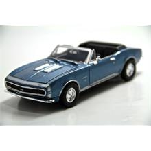Motor Max 1:24 1967 Chevy Camaro Ss (Bordo) Model Araba