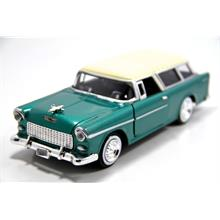 1955 Chevy Bel Air Nomad (Yeşil) Motor Max 1:24 Model Araba