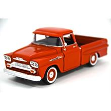 Motor Max 1:24 1958 Chevy Apache Fleetside Pickup (Kırmızı) Model Araba