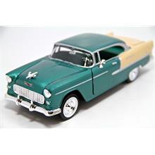 1:24 1955 Chevy Bel Air (Yeşil) Motormax Model Araba