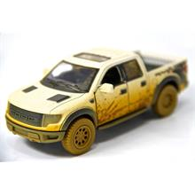 Beyaz - 2013 Ford F-150 SVT Raptor Super Crew 1:46 Metal Araba