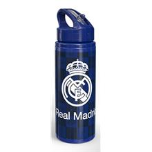 Real Madrid Pipetli 600 ml Alüminyum Matara (Lacivert)