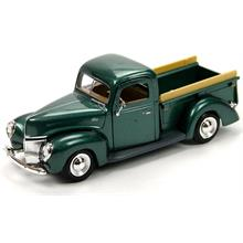 Motor Max 1:24 1940 Ford Pickup Yeşil Model Araba