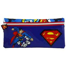 Superman Punch Tek Bölmeli Mini Kalem Çantası