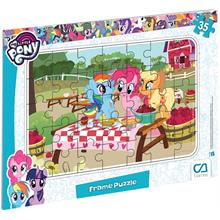 CA Games My Little Pony Frame Puzzle 35 Parça