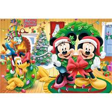 Magic Of Christmas Mickey Mouse 100 Parça Trefl Çocuk Yapboz